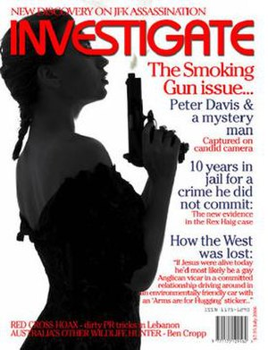 Investigate (magazine) - The cover of the October 2006 issue of Investigate.