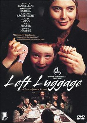 Left Luggage (film) - DVD cover of Left Luggage