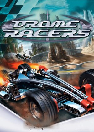 Drome Racers - North American cover for PlayStation 2