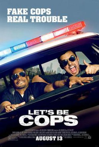 Let's Be Cops - Theatrical release poster