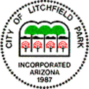 Litchfield Park, Arizona - Image: Litchfield Park AZ seal