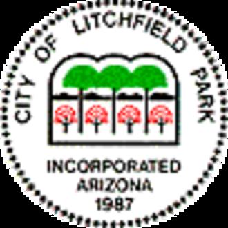 Litchfield Park, Arizona - Image: Litchfield Park AZ seal