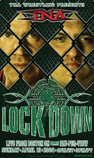 Lockdown (2008) 2008 Total Nonstop Action Wrestling pay-per-view event