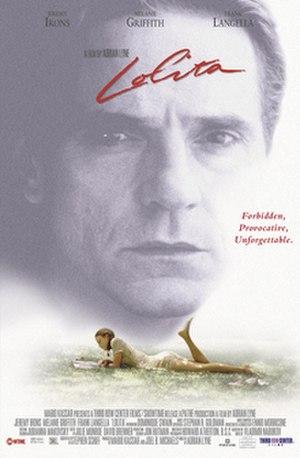 Lolita (1997 film) - Theatrical release poster