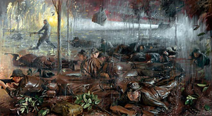 Battle of Long Tan - Long Tan Action by Bruce Fletcher