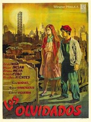 Los Olvidados - Image: Los Olvidados Poster