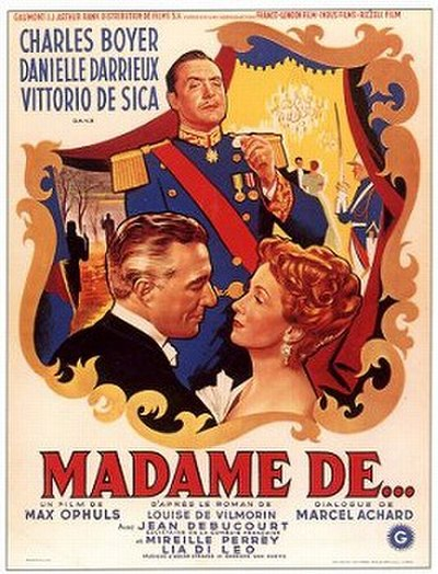 Picture of a movie: The Earrings Of Madame De...