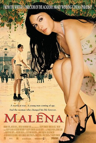 Malèna - Theatrical release poster