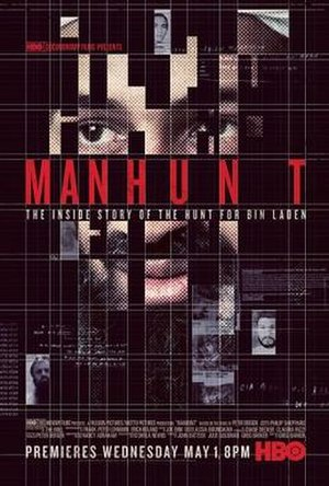 Manhunt: The Search for Bin Laden - Promotional poster for Manhunt: The Search for Bin Laden