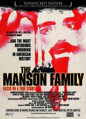 The Manson Family (film) - Theatrical release poster