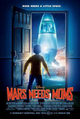 Mars Needs Moms - Theatrical release poster