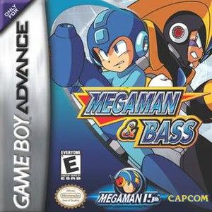 Mega Man & Bass - GBA North American cover art