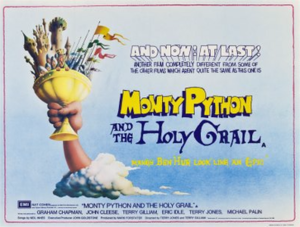 Monty Python and the Holy Grail - UK quad poster