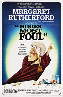 <i>Murder Most Foul</i> (film) 1964 film by George Pollock