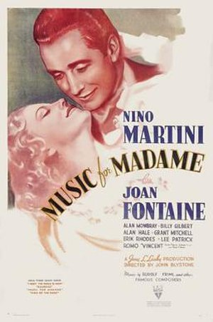 Music for Madame - Theatrical release poster