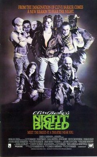 Nightbreed - Theatrical release poster