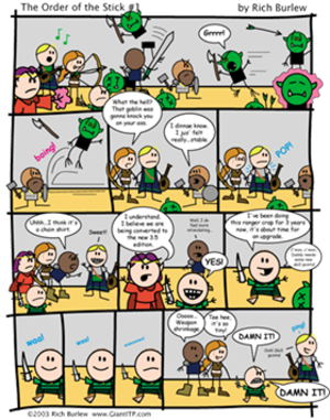 The Order of the Stick - Image: OOTS1withbkgd