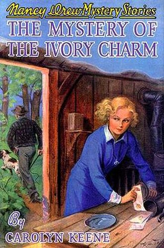 The Mystery of the Ivory Charm - Original edition cover