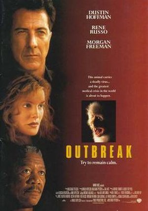 Outbreak (film) - Theatrical release poster