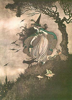 Ida Rentoul Outhwaite - Image: Outhwaite Witch