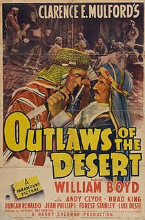 <i>Outlaws of the Desert</i> 1941 film by Howard Bretherton