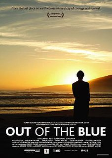 <i>Out of the Blue</i> (2006 film) 2006 film by Robert Sarkies