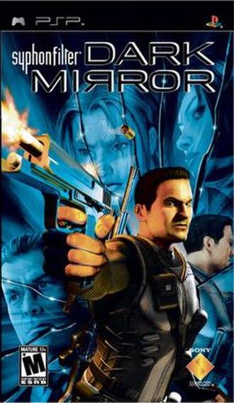 Syphon Filter: Dark Mirror - Image: PSP Syphon Filter Dark Mirror U Sversion Front Cover
