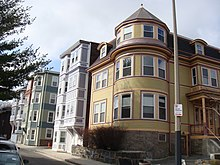 House Built Into Hill >> Mission Hill, Boston - Wikipedia