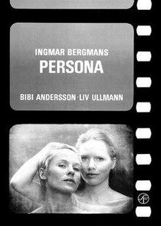 <i>Persona</i> (1966 film) 1966 film by Ingmar Bergman