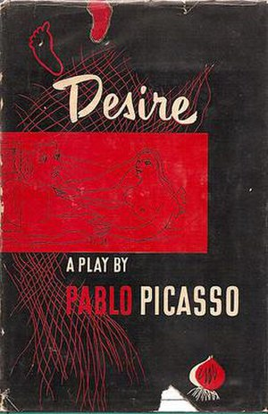 Desire Caught by the Tail - Cover of first English translation, 1948