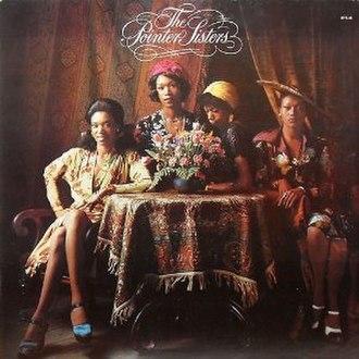 The Pointer Sisters (album) - Image: Pointersistersalbum