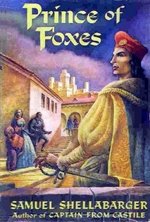 <i>Prince of Foxes</i> book by Samuel Shellabarger