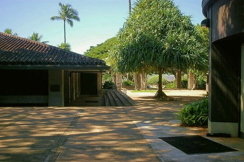 Punahou Chapel and Round House