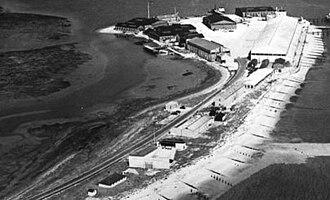 RAF Calshot - Aerial view, late 1920s.