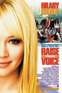 <i>Raise Your Voice</i> 2004 film by Sean McNamara