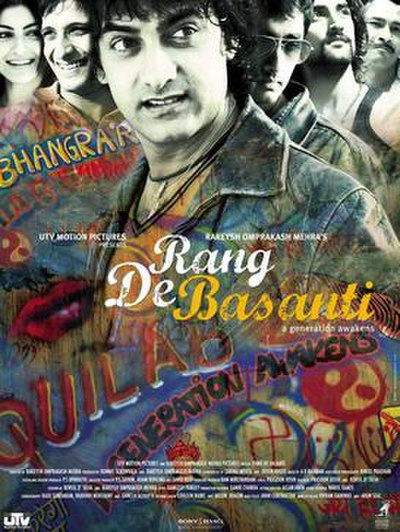 Picture of a movie: Rang De Basanti