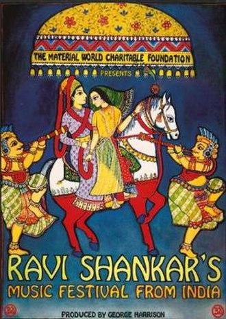 Ravi Shankar's Music Festival from India - Image: Ravi Shankar's Music Festival From India poster