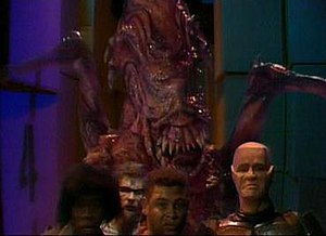 "Red Dwarf - The episode ""Polymorph"" parodied the 1979 Alien film"