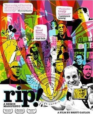 RiP!: A Remix Manifesto - Image: Rip a remix manifesto poster