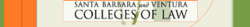 Logo of Santa Barbara & Ventura Colleges of Law