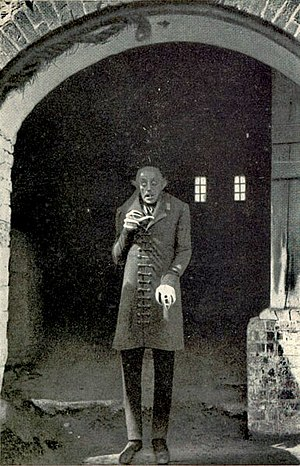 Nosferatu - Schreck in a promotional still for the film