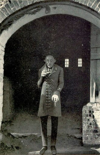 Count Dracula - Max Schreck as Count Orlok, the first confirmed cinematic representation of Dracula (in Nosferatu, 1922).