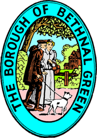 Metropolitan Borough of Bethnal Green - The Seal of the Metropolitan Borough
