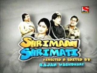 <i>Shrimaan Shrimati</i> (TV series) Indian Hindi-language sitcom