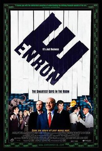 Enron: The Smartest Guys in the Room - Theatrical release poster
