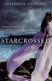 <i>Starcrossed</i> (novel) young-adult fantasy romance novel by American author Josephine Angelini