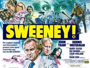 Sweeney! - Image: Sweeney! uk quad 320x 240