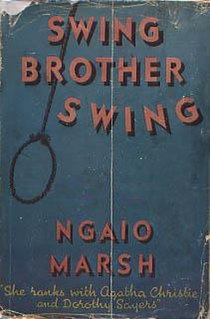 <i>Swing Brother Swing</i> book by Ngaio Marsh