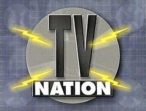 TV Nation - Title design by Chris Harvey