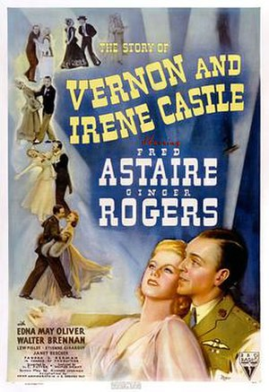 The Story of Vernon and Irene Castle - Theatrical release poster